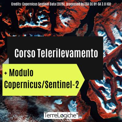 TELERILEVAMENTO + MODULO COPERNICUS/SENTINEL-2